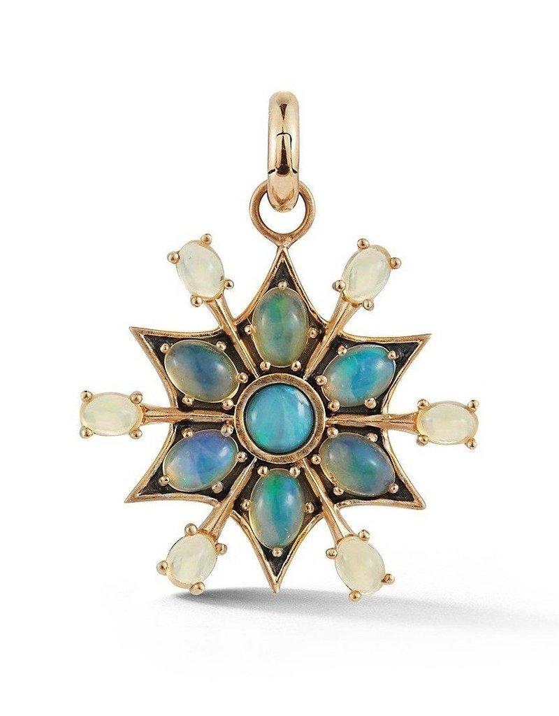 Storrow Sadie Star Charm- Opal