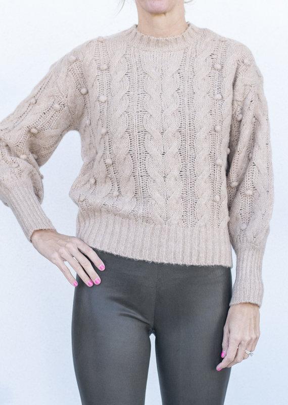Ann Mashburn Analise Sweater-Camel