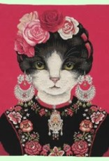 FS Homes collection Earring Cat - Fuchsia