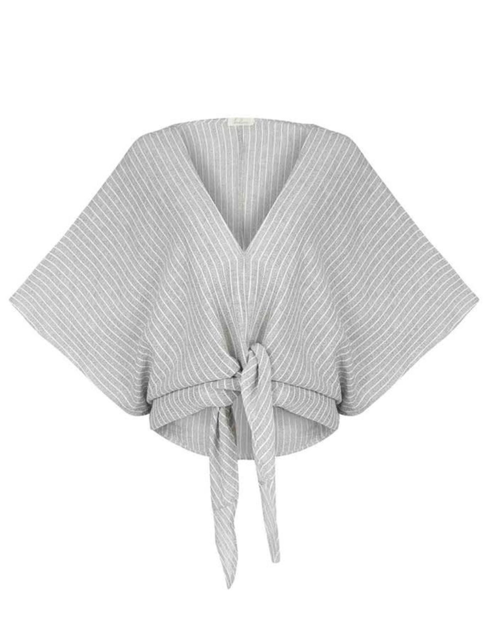 Handloom Keeper Wrap Top