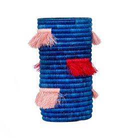 Kazi Lake + Cherry Fringe Vase
