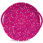Kazi Speckled Vivid Viola Tray