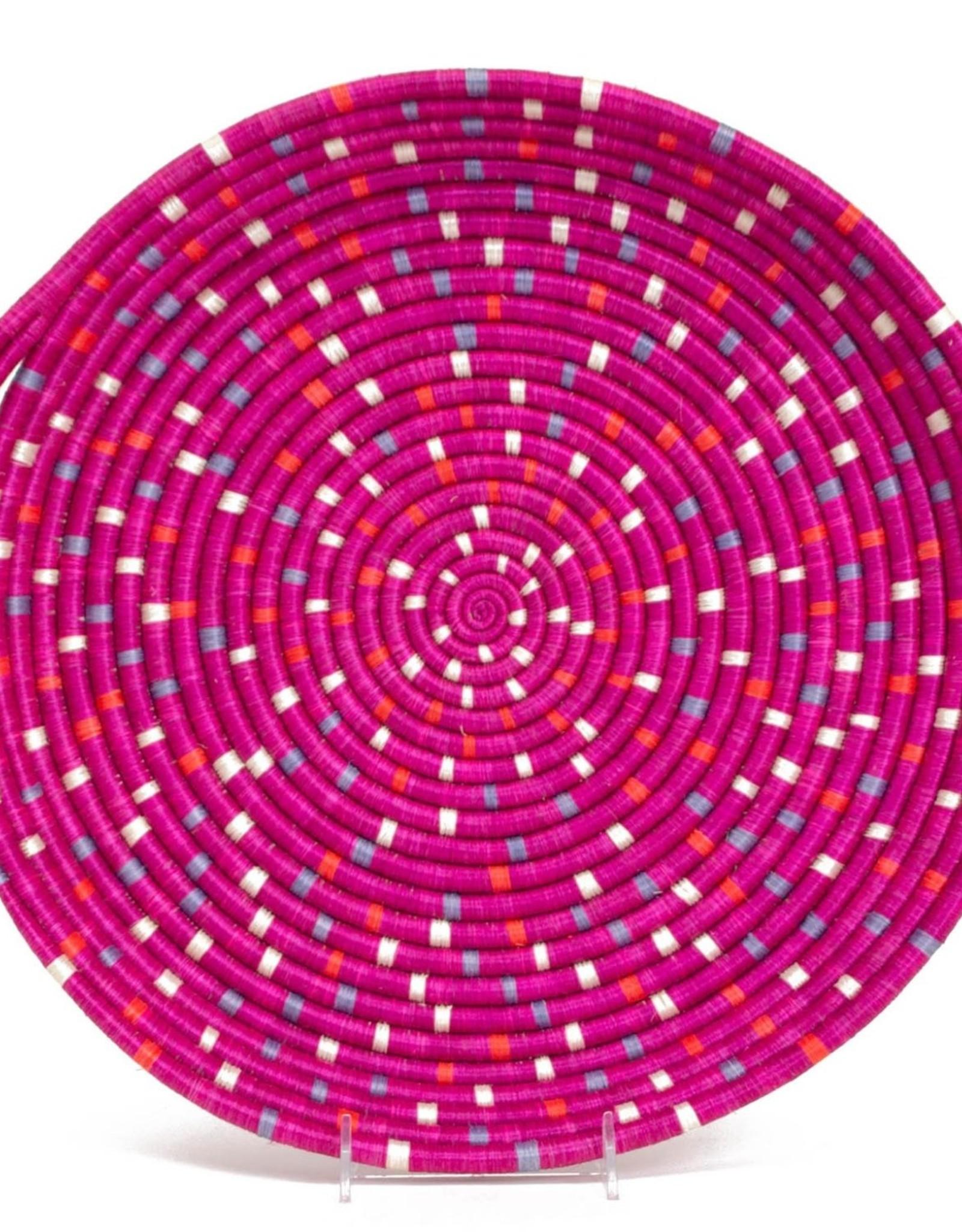 Kazi Speckled Vivid Viola Tray