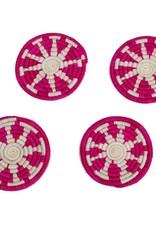 Kazi Vivid Viola Florian Coasters