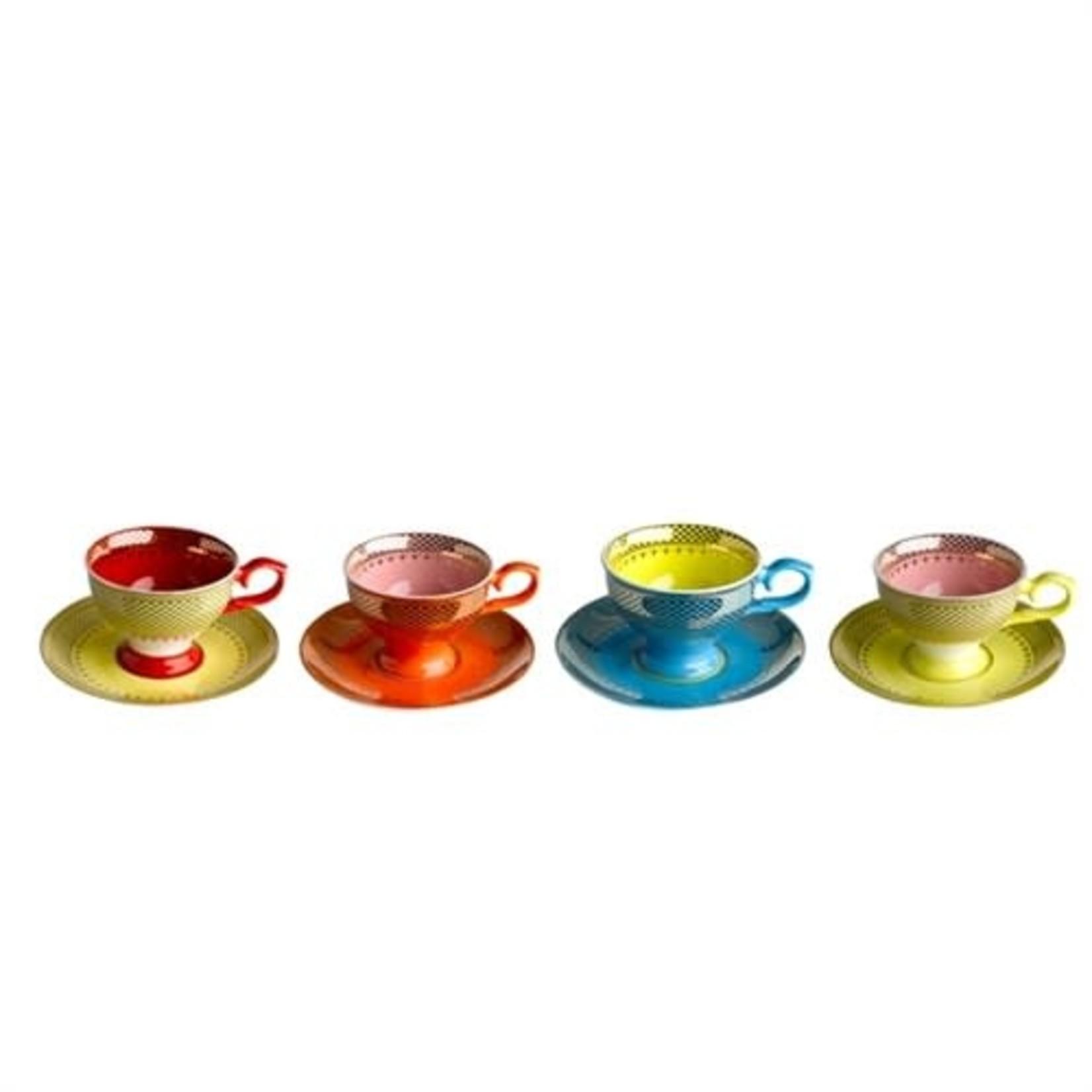 Pols Potten Grandma Espresso - set of 4