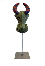 Koindo African Imports Inc. Glass Beaded Mask