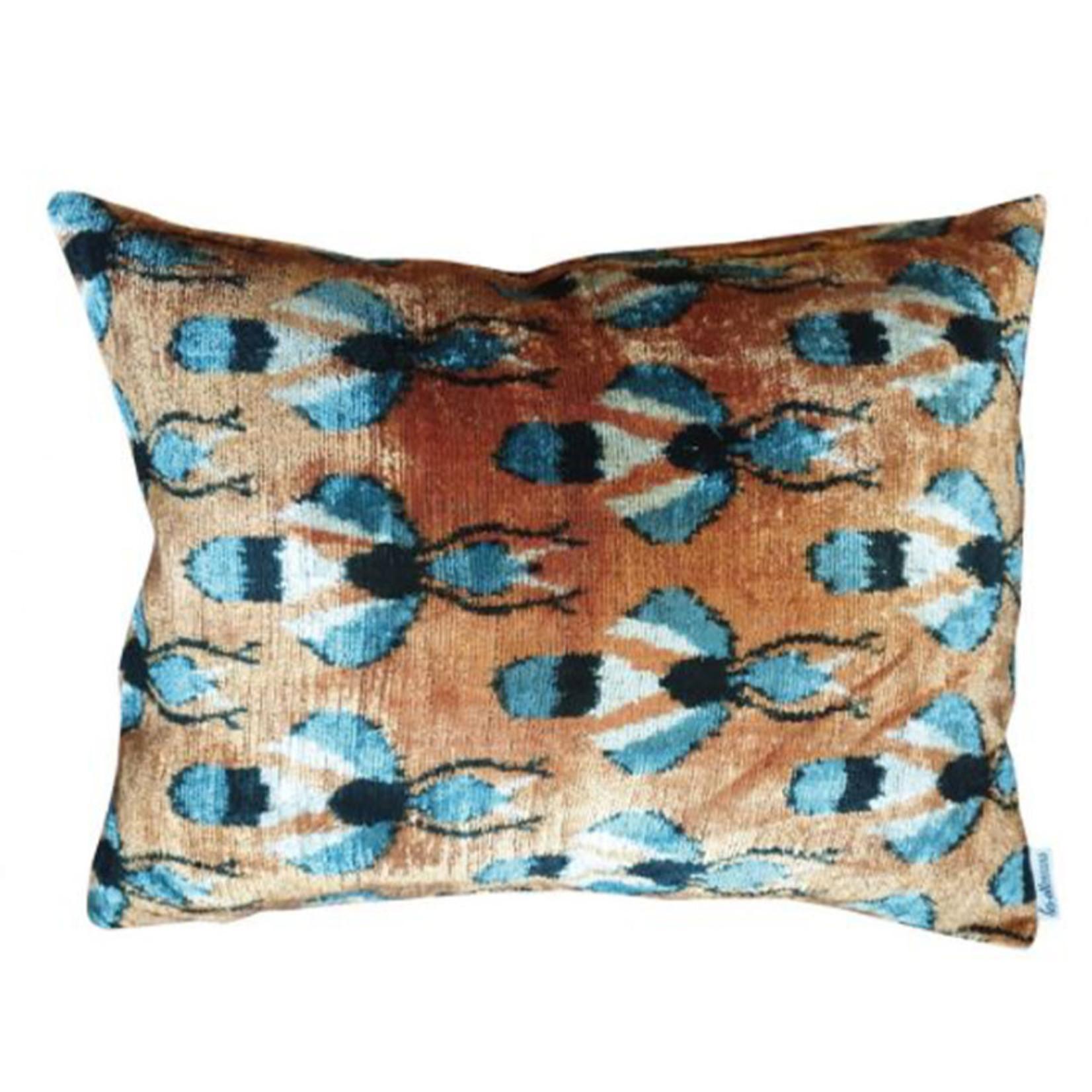 Les Ottoman Velvet Cushion