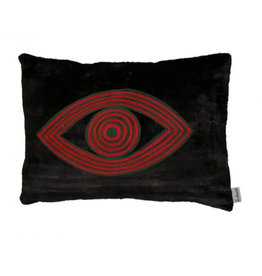 Les Ottoman Velvet Eye