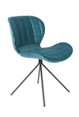 ZUIVER BV OMG Velvet Chair (set of 2)