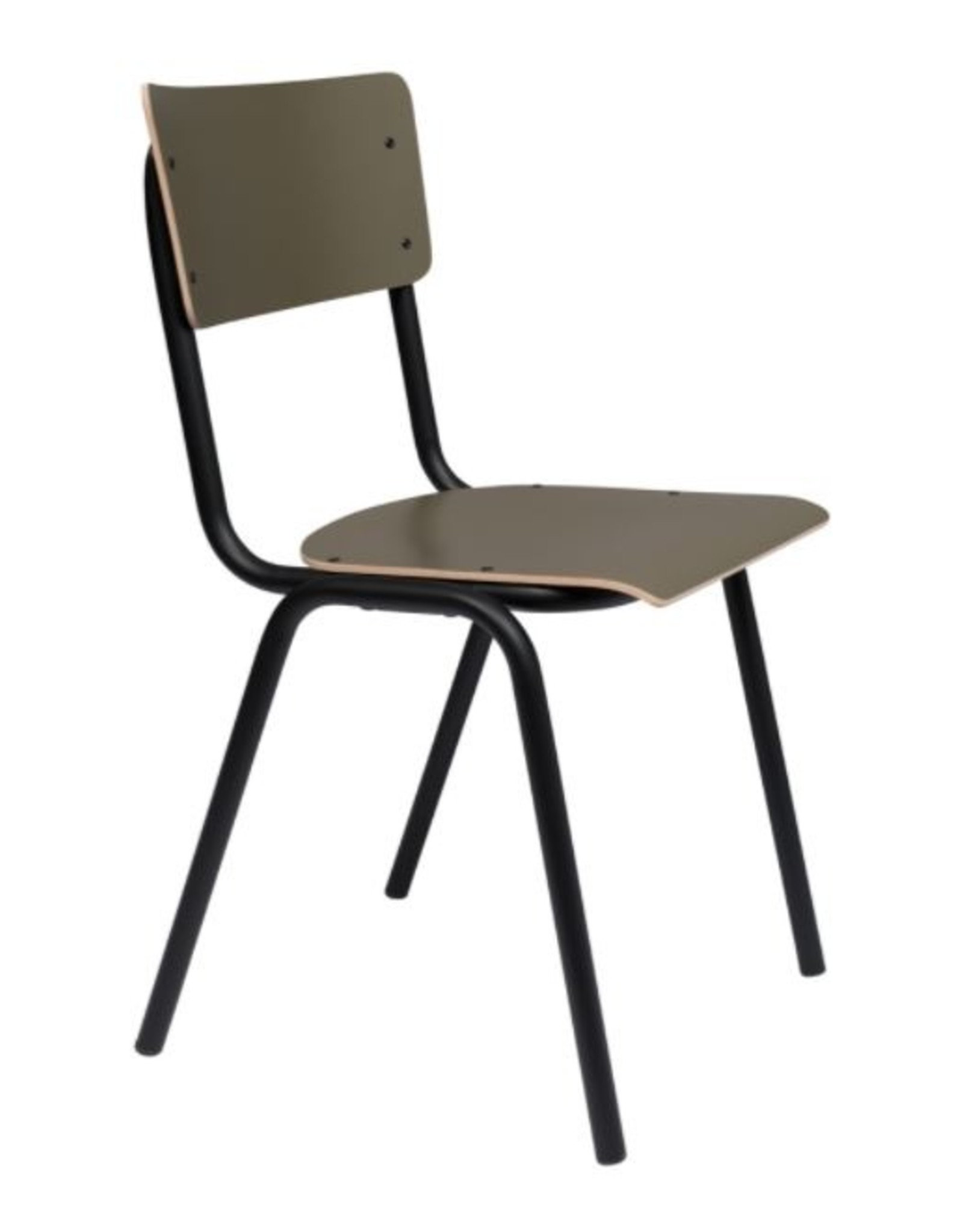 ZUIVER BV Back to School Matte Chair (set of 2)