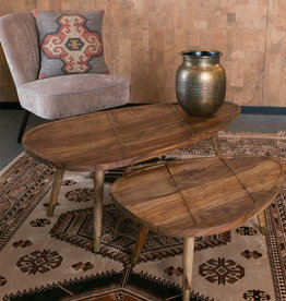 ZUIVER BV Sham Coffee Table (set of 2)
