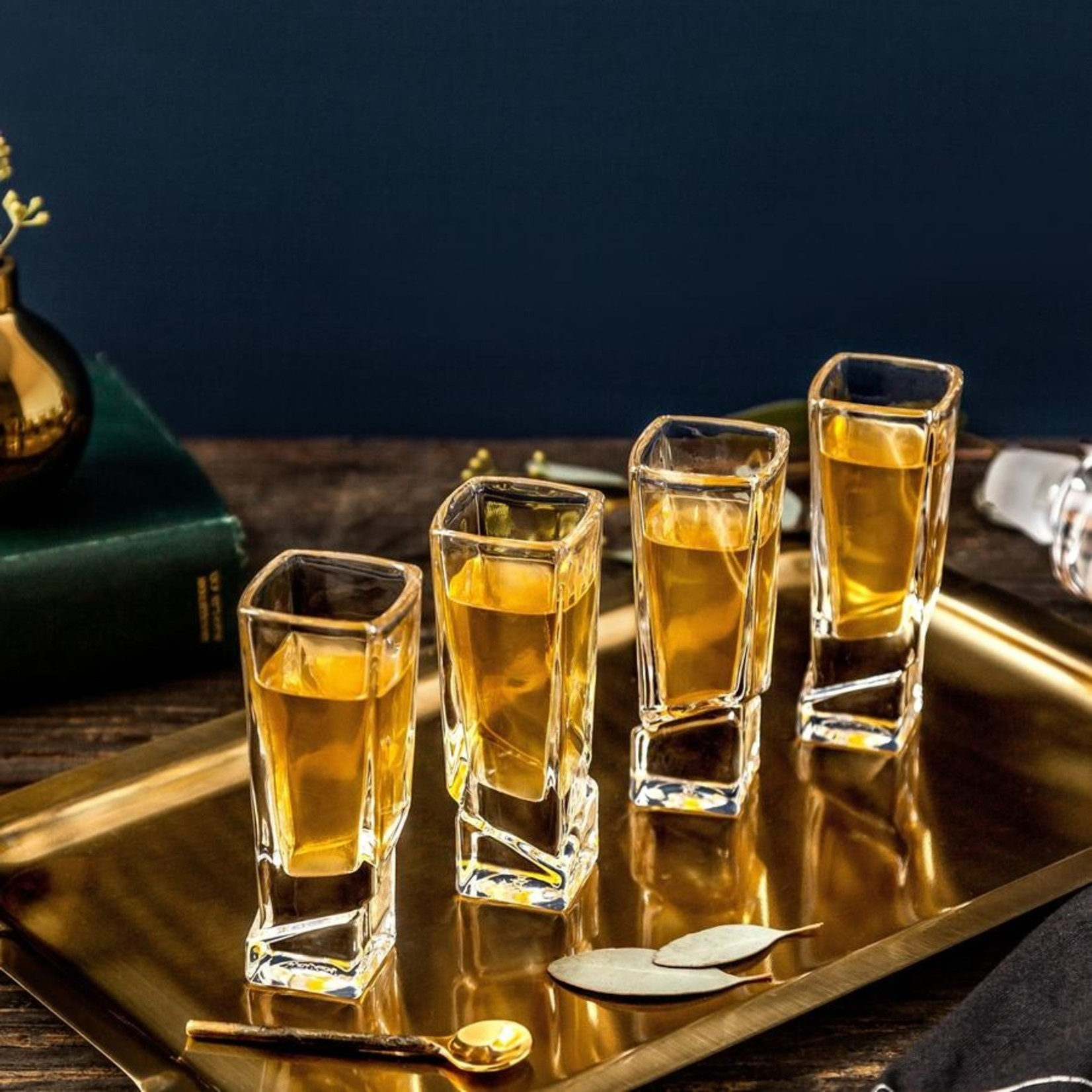 Joy Jolt Carre Shot Glasses - Set of 4