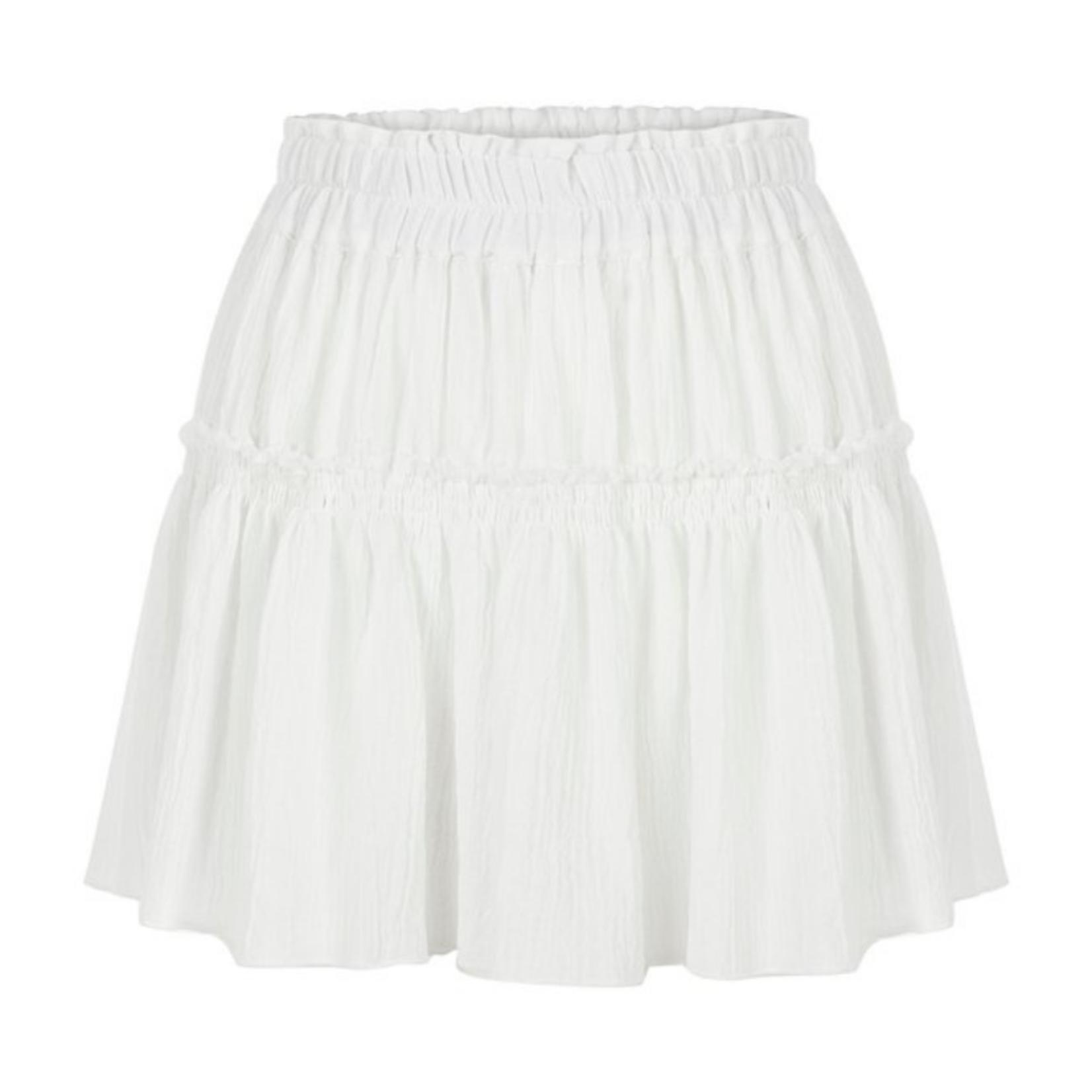 Handloom Ash Mini Skirt