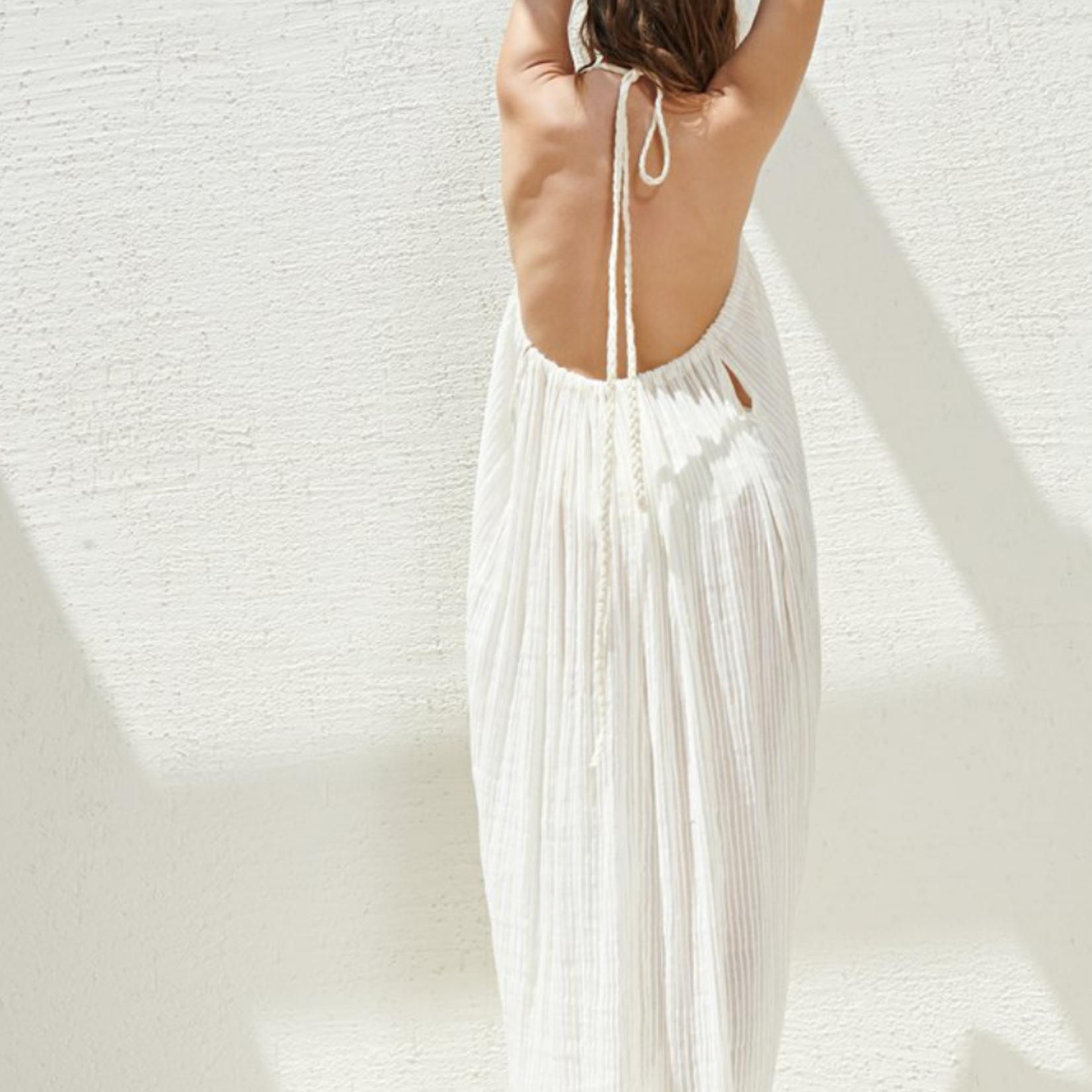 Handloom Breeze Beach Dress