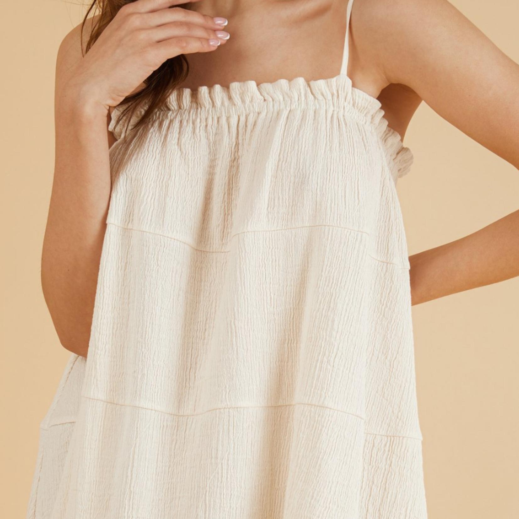 Handloom Ivy Mini Dress