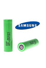 SAMSUNG 18650 Battery - Samsung 25 R (Green) 2500 mAh