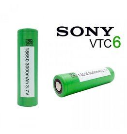 SONY 18650 Battery - Sony VTC6 (Green) 3000 mAh