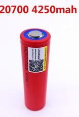 Sanyo 20700 - 4250mah Battery (Red)