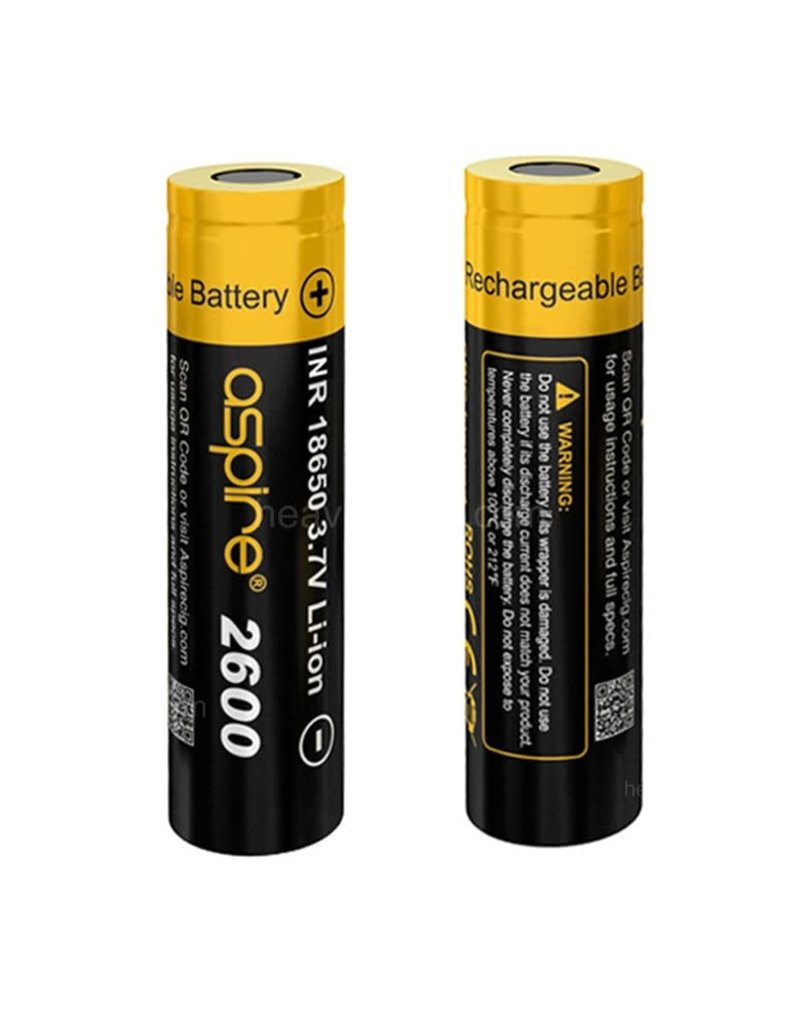 ASPIRE Aspire 18650 INR 2600mah Battery