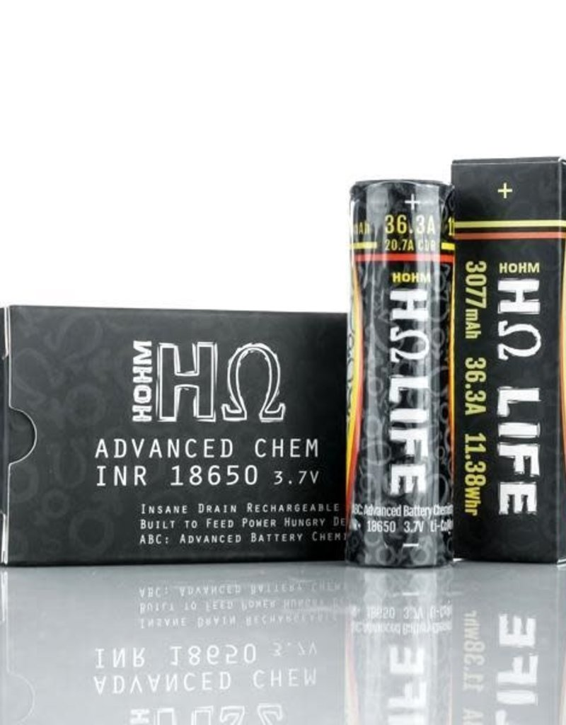 HOHM Batteries HOHM Life4 - 18650 Battery Single