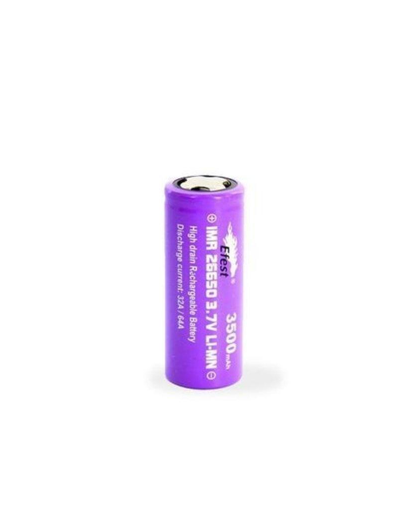 E-FEST Efest 26650 IMR Battery  3500mah 64A