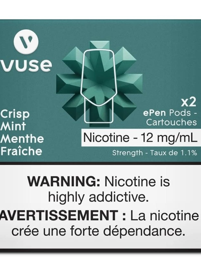 VYPE Vuse (Vype) - Crushed mint Epen pods 1.2% pack