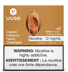VUSE (VYPE) Vuse (Vype) - Classic Tobacco Epen pods 3% pack