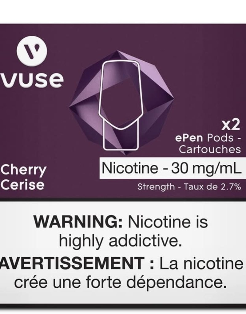 VYPE Vuse (Vype) - Dark cherry Epen pods 3% pack
