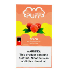 PUFF Puff - Peach Ice JUUL compatible pods