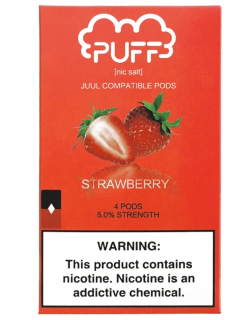 PUFF Puff - Strawberry JUUL compatible pods