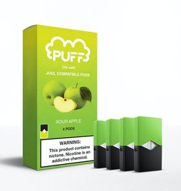 PUFF Puff - Sour Apple JUUL compatible pods
