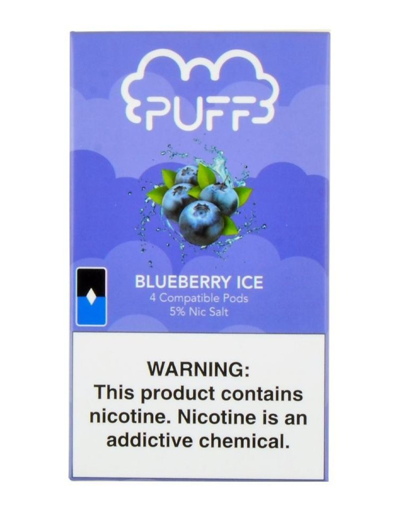 PUFF Puff - Blueberry Ice JUUL compatible pods
