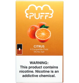 PUFF Puff - Citrus JUUL compatible pods