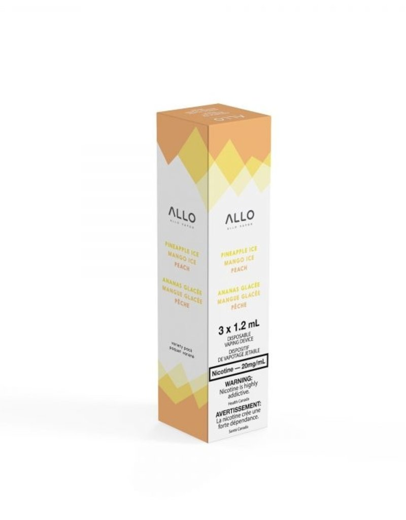 ALLO Allo 20mg Multi-Pack (MangoIce/Peach/Pineapple)
