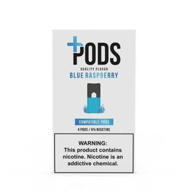 PLUS PODS + pods - Blue Raspberry