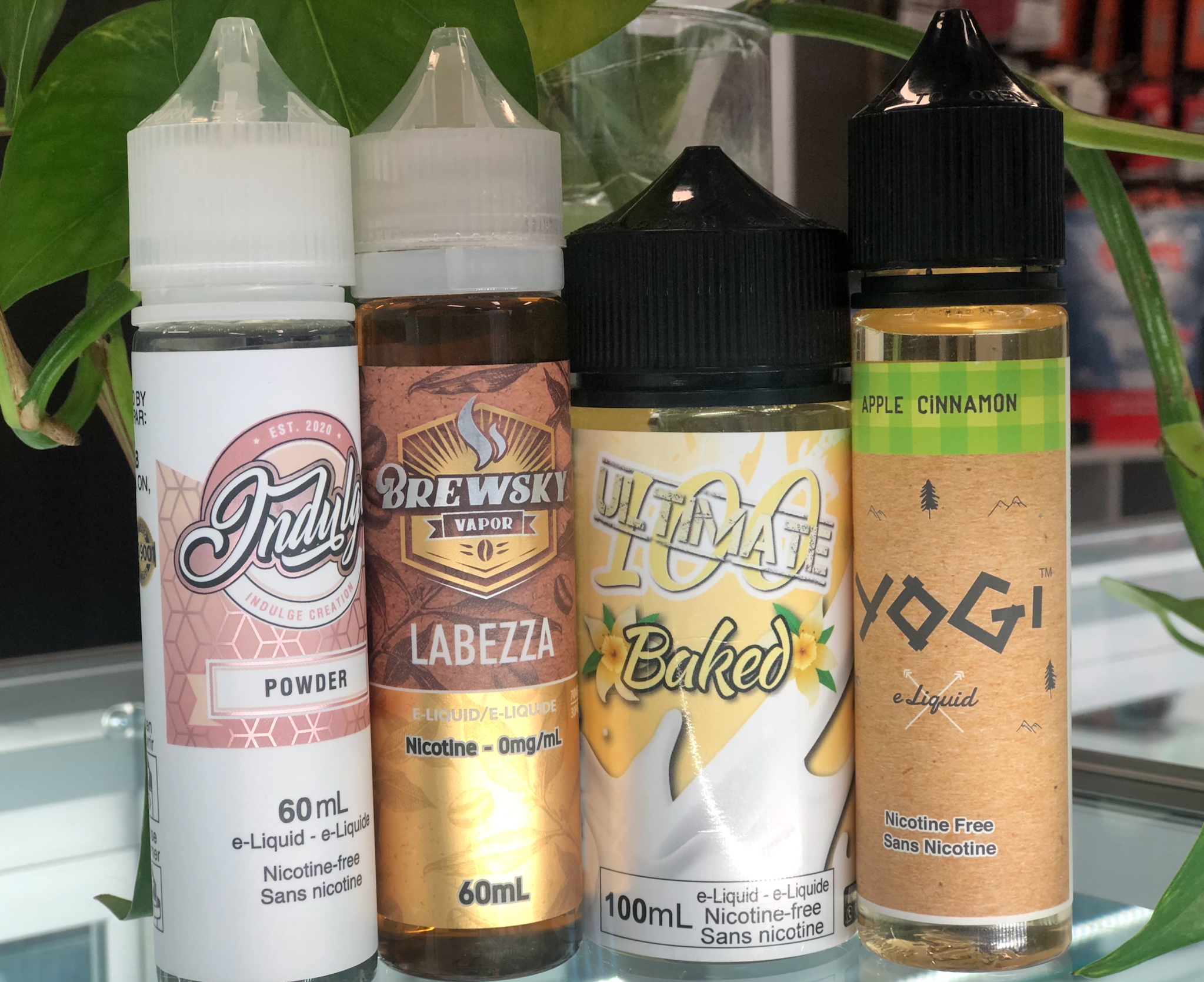WINTER is approaching! Few of our E-juice picks for you all in this cold weather!