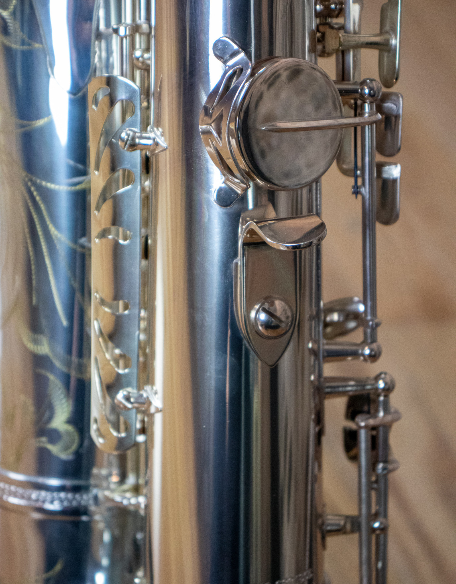 JL Woodwinds JL Woodwinds Custom Silver Plated Tenor Saxophone