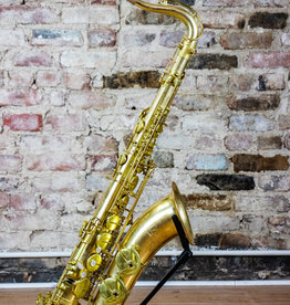 JL Woodwinds New York Signature Series Rose Brass Unlacquered Tenor Saxophone