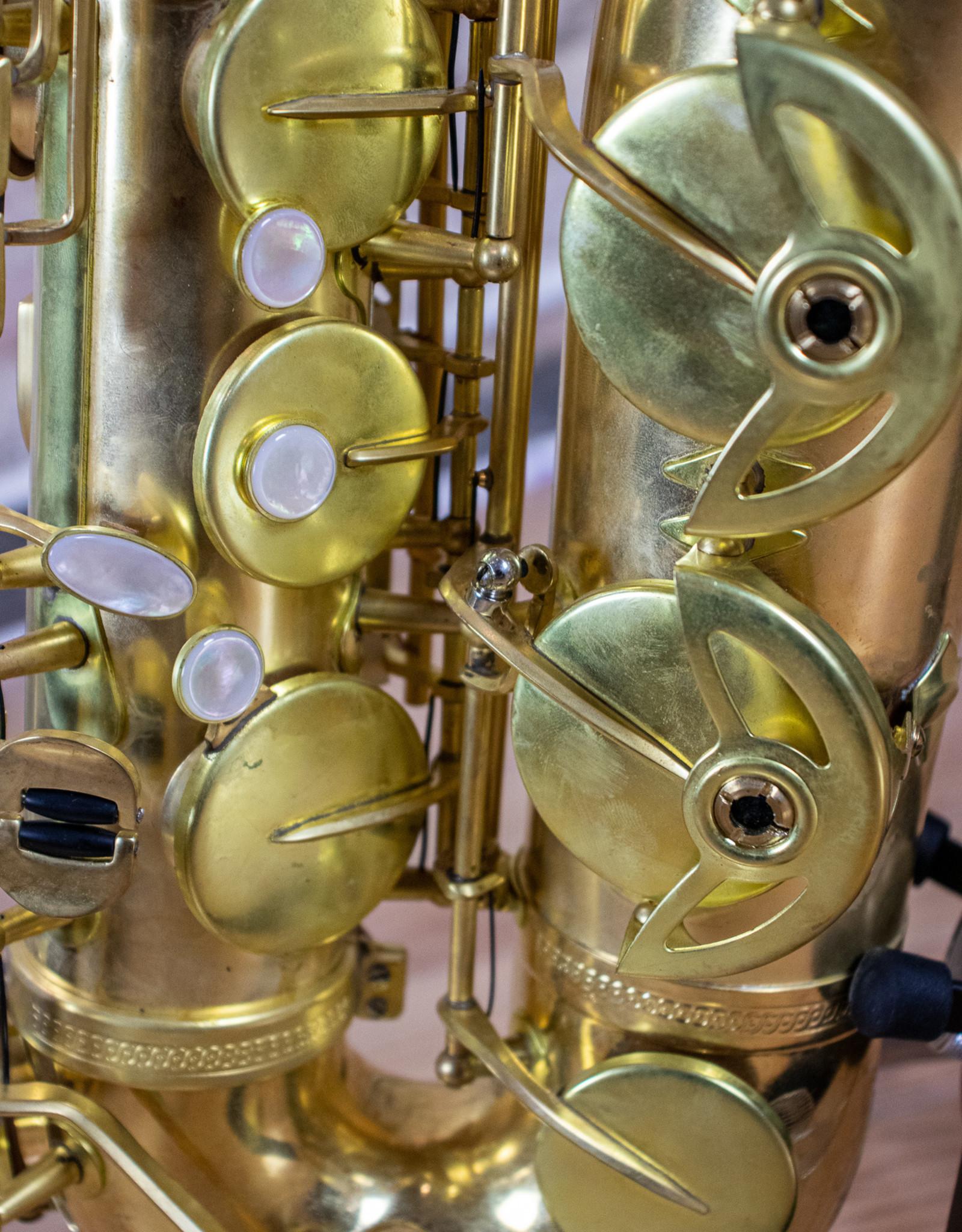 JL Woodwinds New York Signature Series Rose Brass Unlacquered Tenor Saxophone