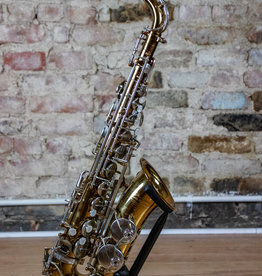 JL Woodwinds JL Woodwinds Custom Cognac Alto Saxophone W/ Brushed Nickel Keywork