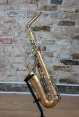 JL Woodwinds Custom Unlacquered Copper Alto Saxophone W/ Brushed Nickel Keywork