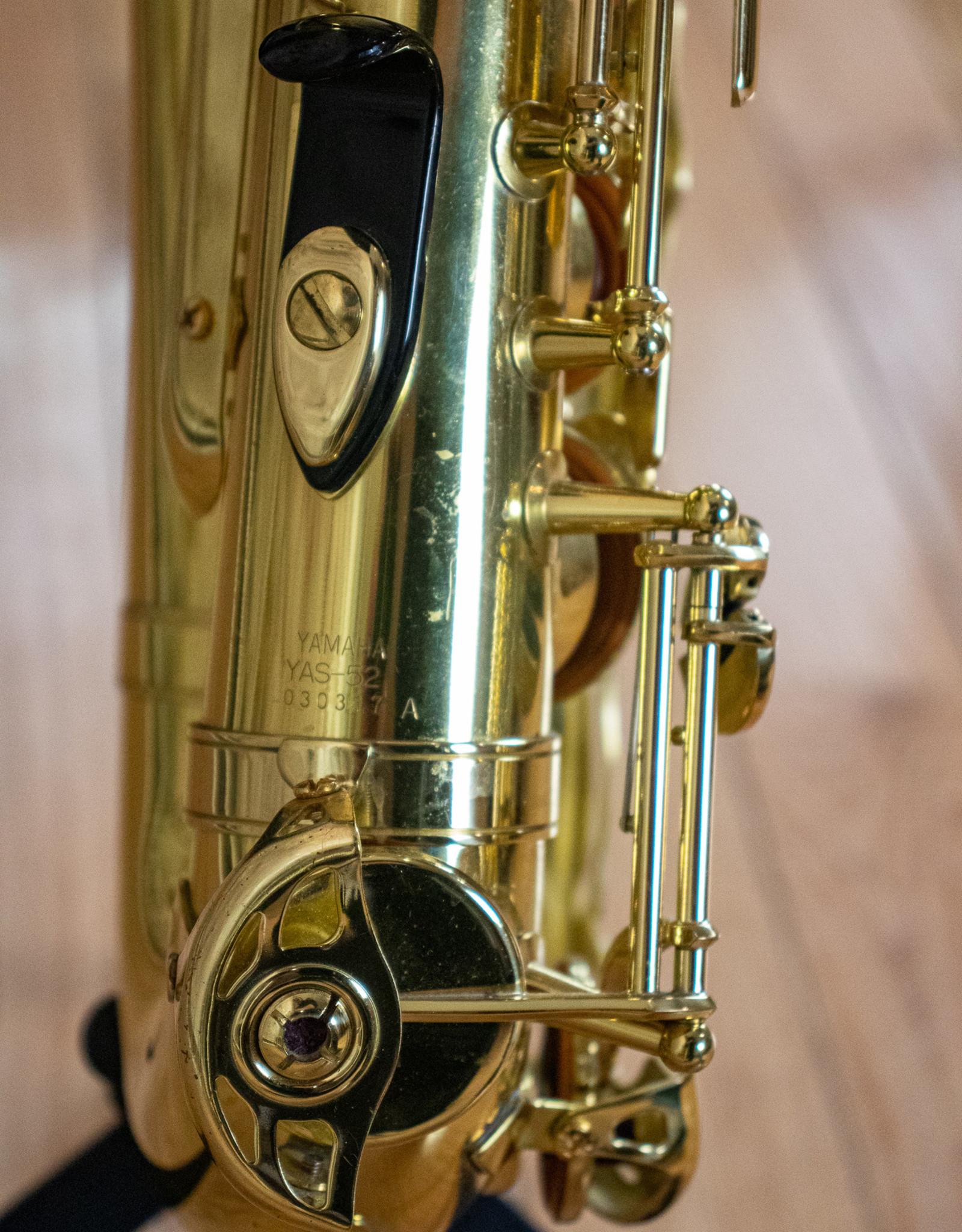 Yamaha Used Yamaha YAS-52 Alto Saxophone