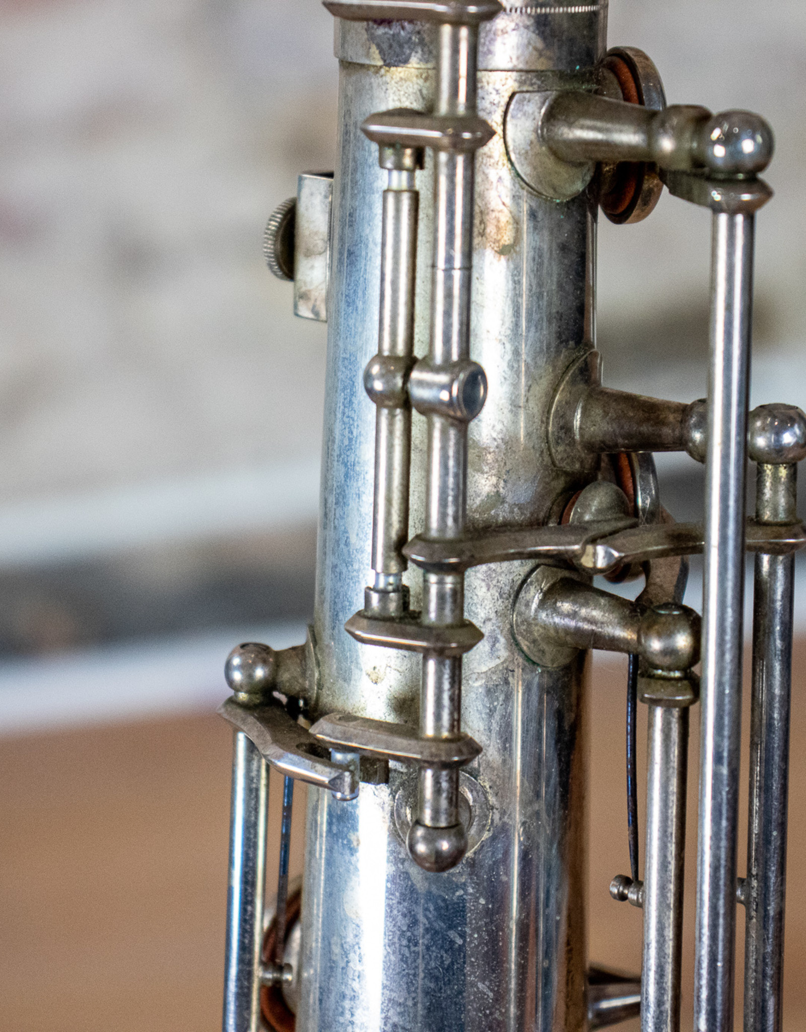 Yamaha Used Yamaha Silver Plated YTS-62 Tenor Saxophone