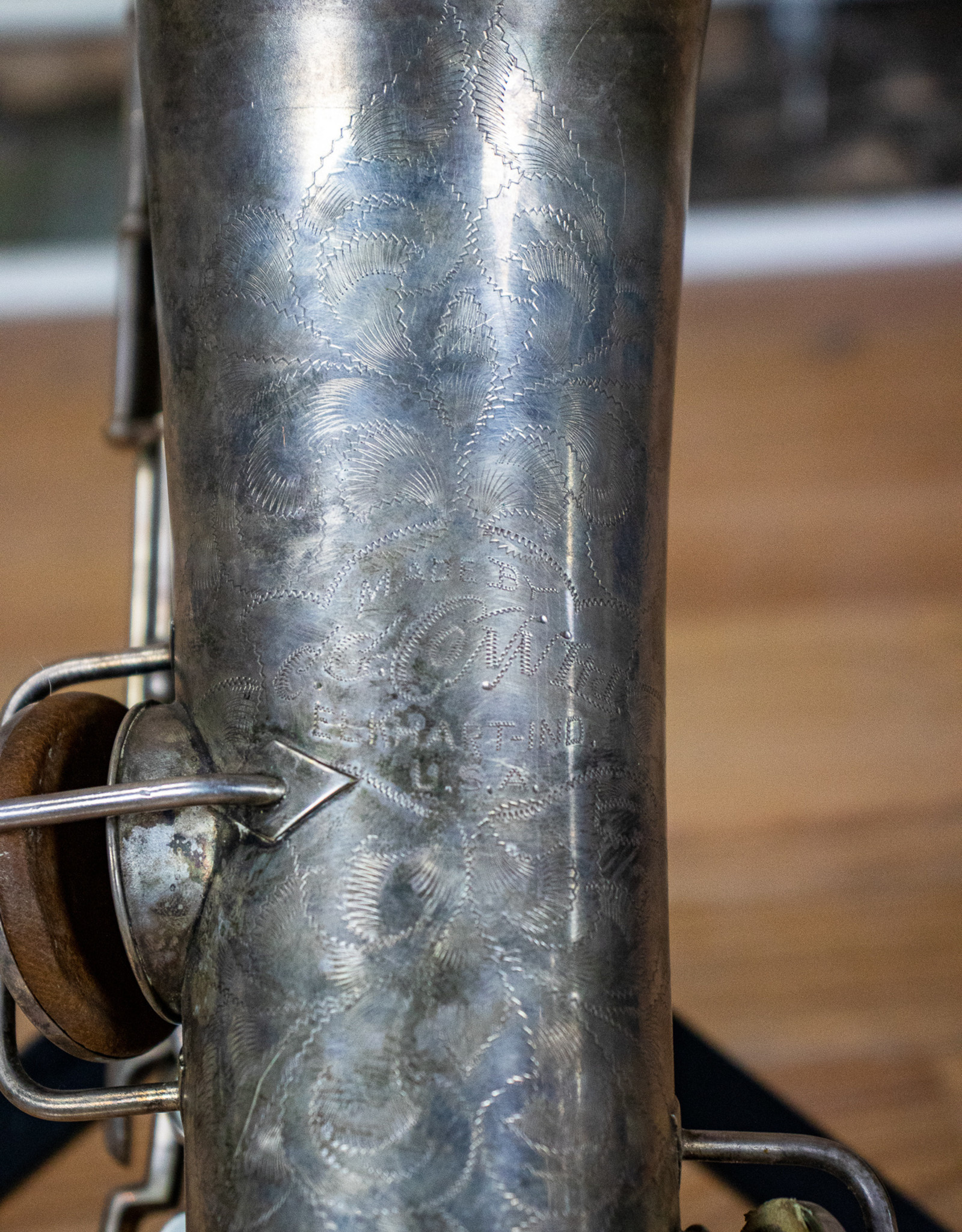 Conn As-Is 1924 Conn New Wonder Series I C Melody Saxophone