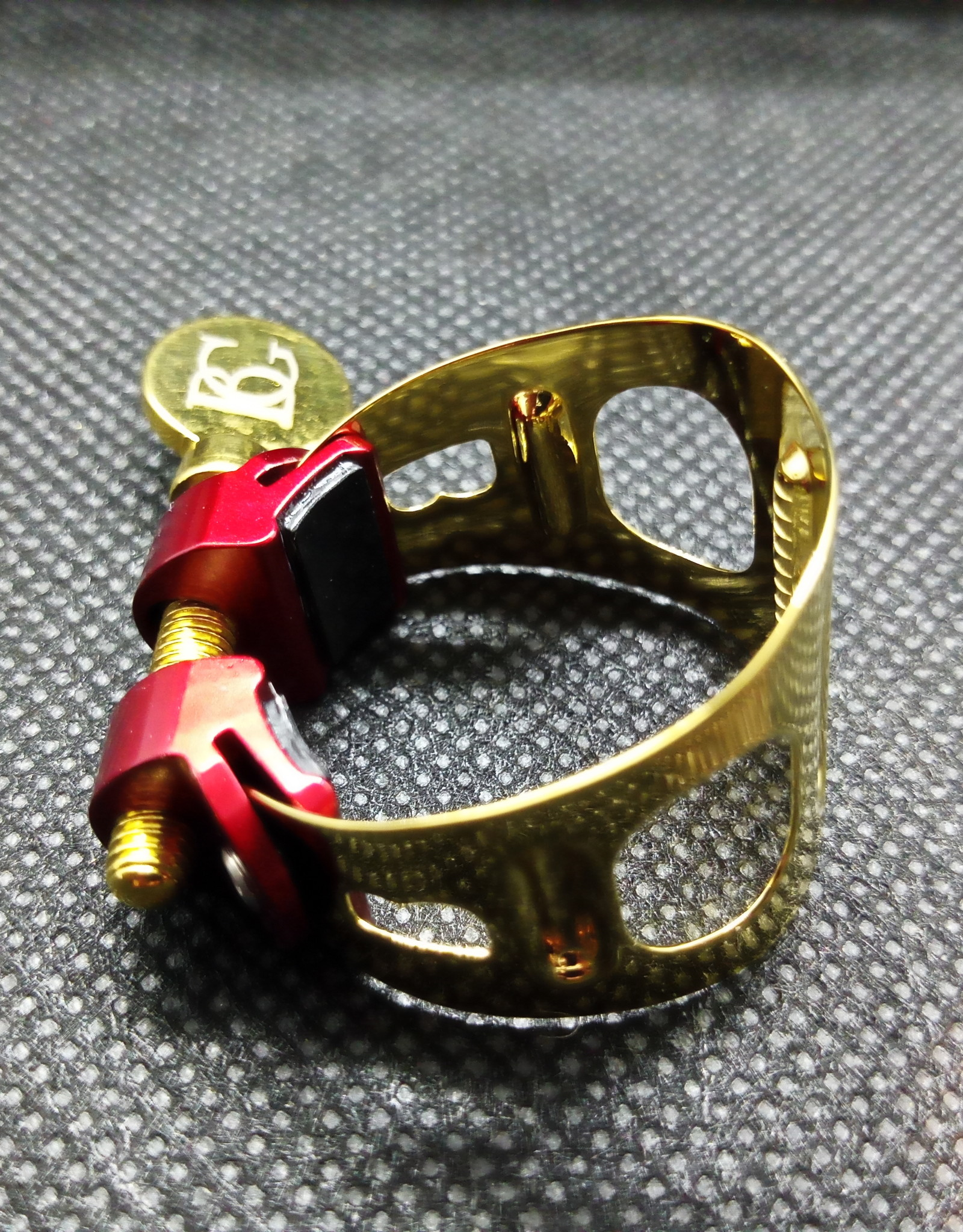 BG France BG France Soprano Sax Ligature Duo Gold Plated LDS1