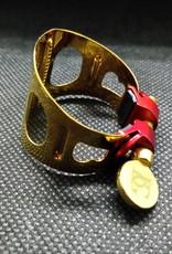 BG France BG France Tenor Sax Ligature Duo 24K Gold Plated LDT1