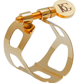 BG France BG France Tradition Gold Lacquered Bari Sax Ligature Model L60