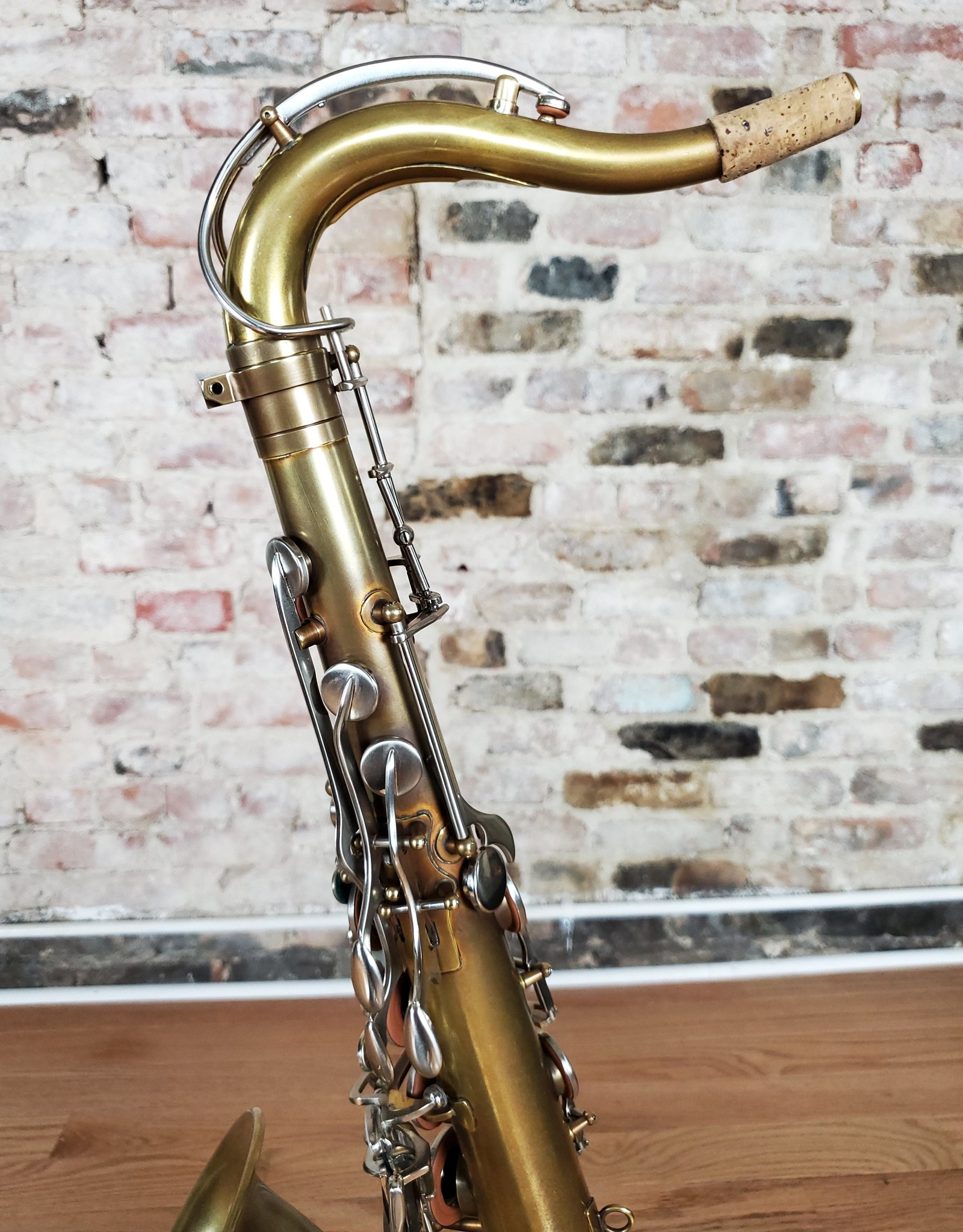 JL Woodwinds JL Woodwinds Custom Unlacquered Tenor with Brushed Nickel Keys