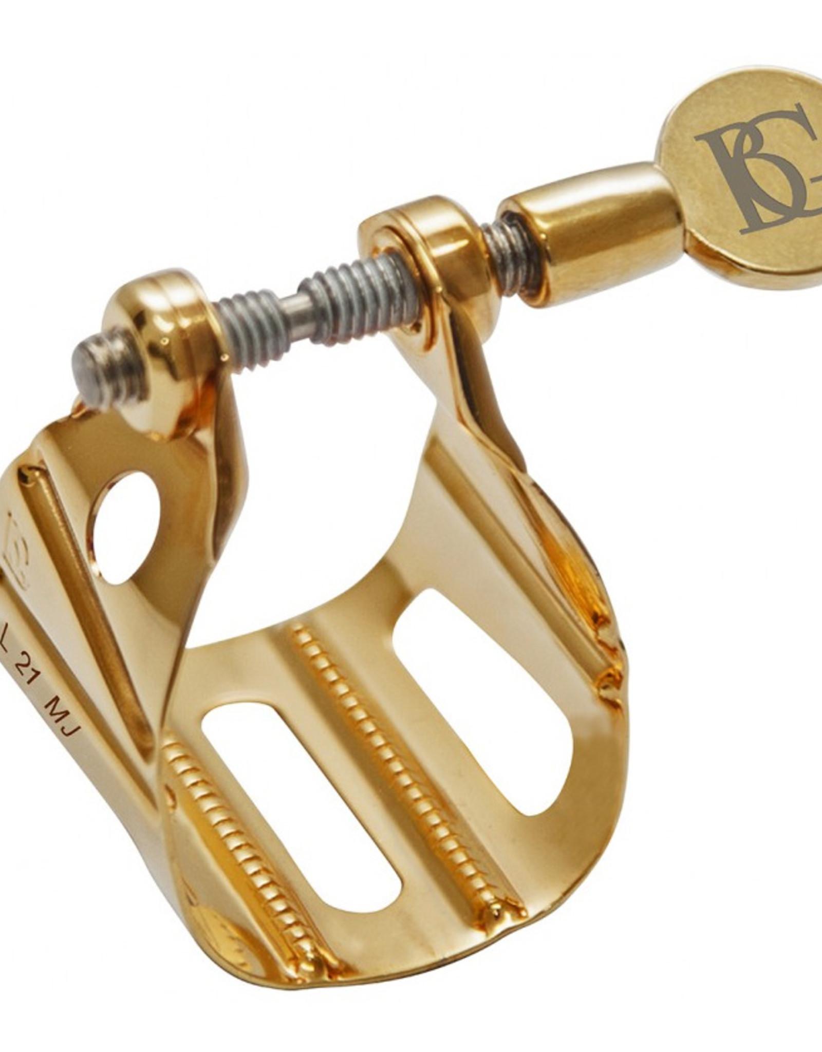BG France BG gold plated Metal Jazz Saxophone Ligature Tenor L21 MJ