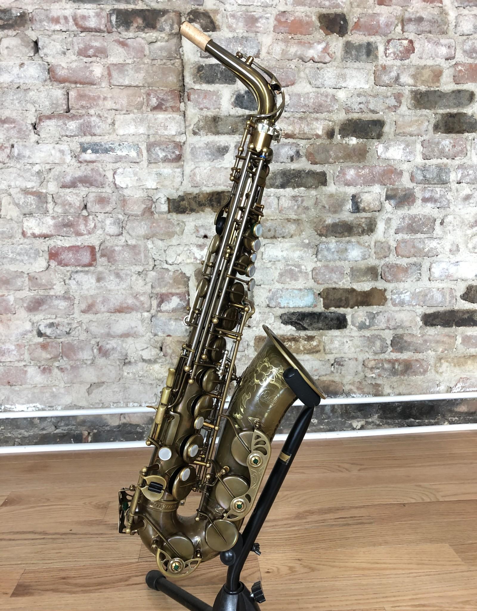 "Ishimori Ishimori Wood Stone ""New Vintage"" Alto saxophone AF Model with High F# Key"